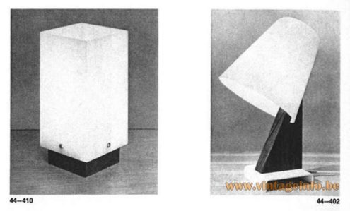 1960s white acrylic table lamps design: Yki Nummi produced: Sanka Oy for Stockmann ORNO Finland MCM