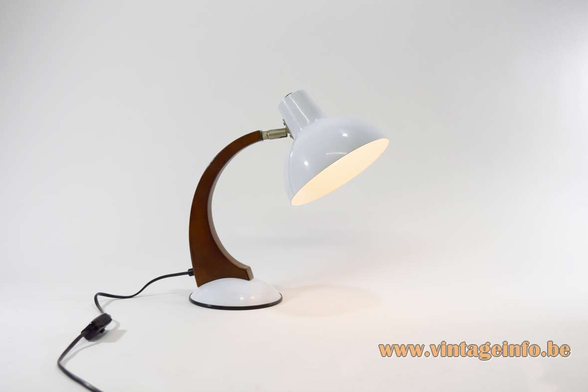 Fase Style 1980s Desk Lamp