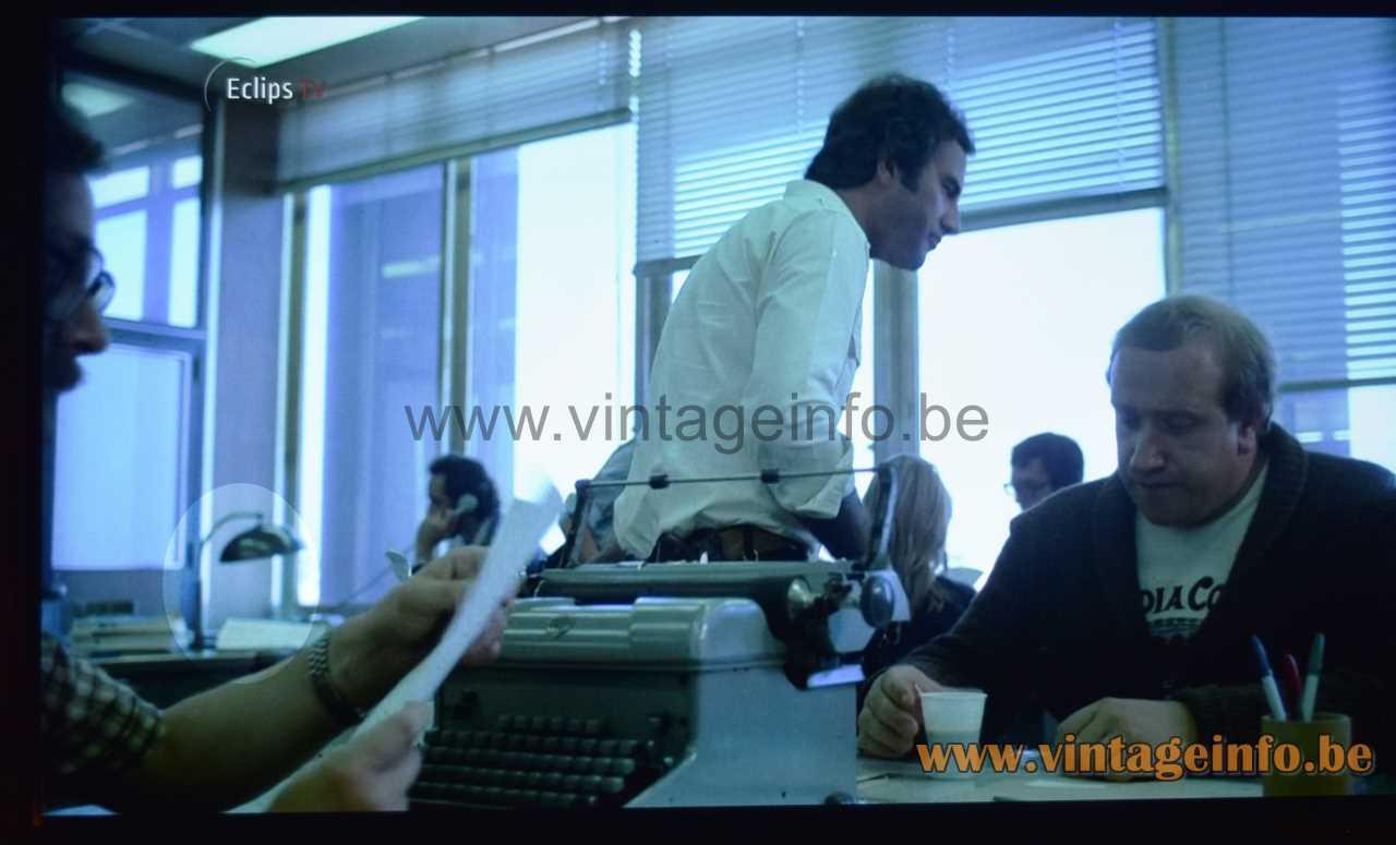 Hala desk lamp 144 used as a prop in the 1983 film Zaman