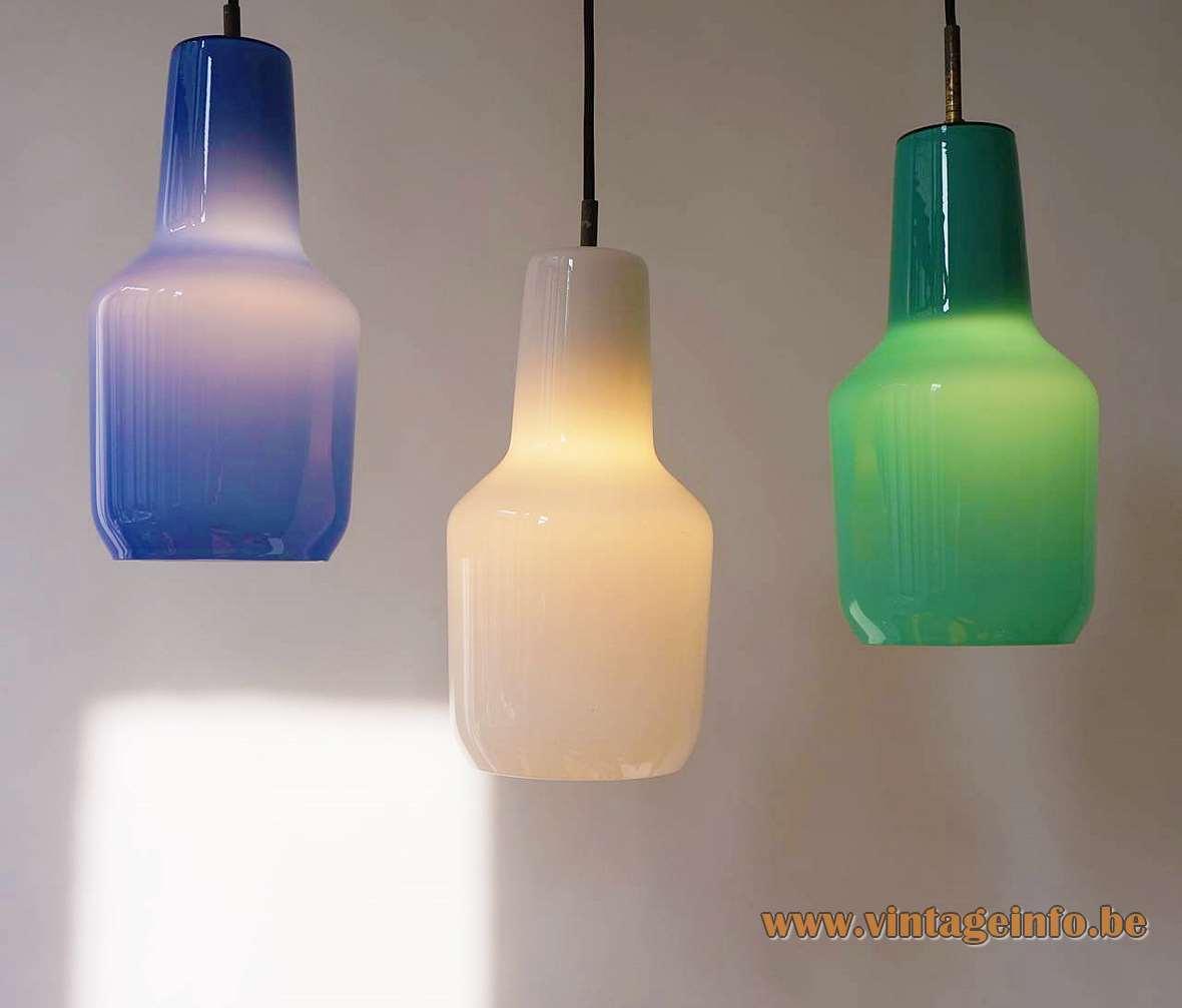 Massimo Vignelli Venini Pendant Lamps