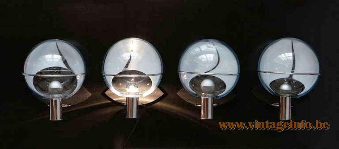 Toni Zuccheri Membrane Wall Lamps