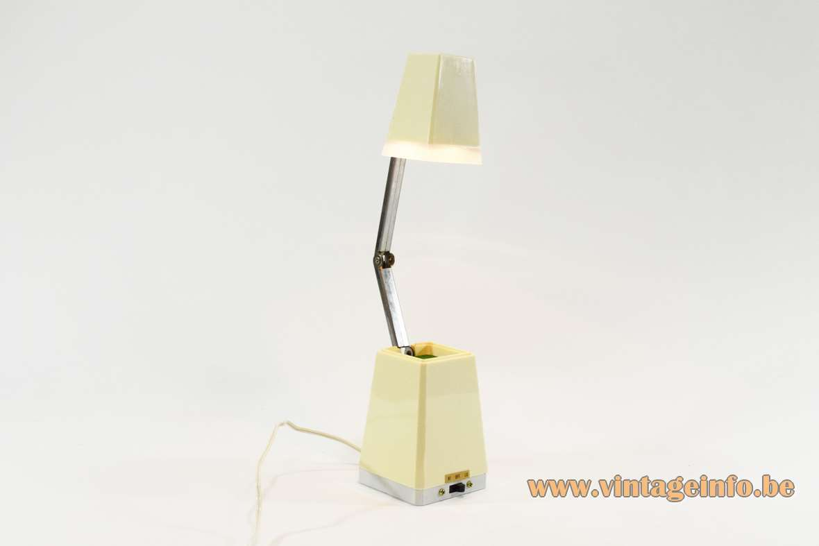 Well-Lite Folding Pyramid Table Lamp