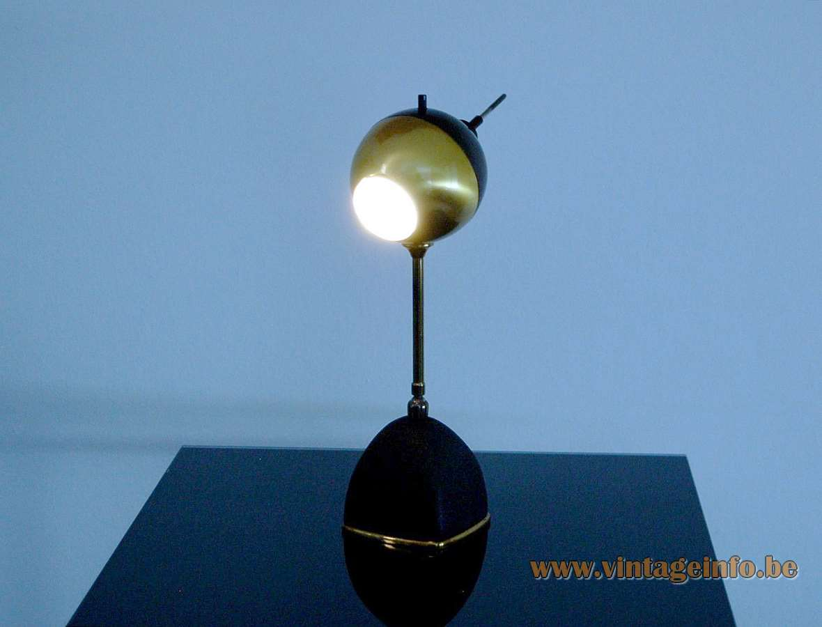 1950s Oscar Torlasco Table Lamp 578