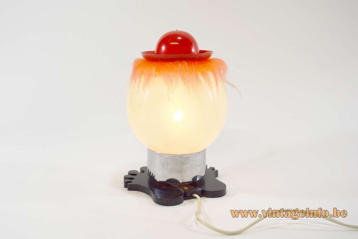 1970s Bobblehead Table Lamp