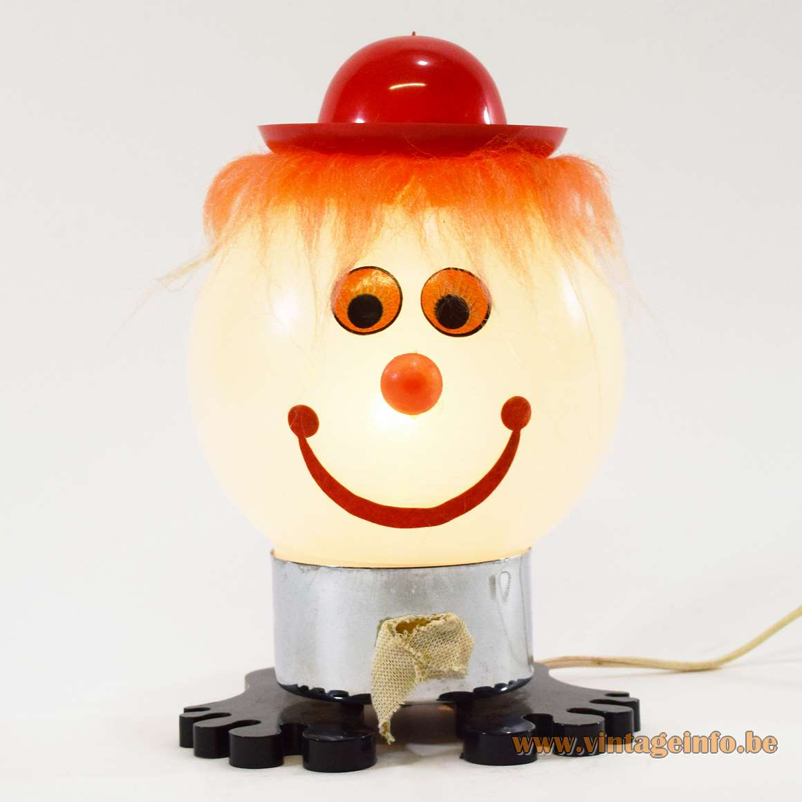 1970s Stilfer Bobblehead Table Lamp