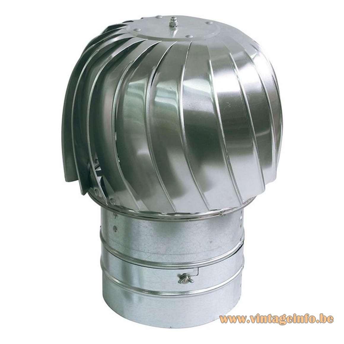 Henri Mathieu Spiral Kinetics Style Pendant Lamp - Chimney Cap