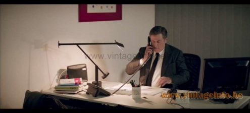 Artemide Tizio 50 desk lamp used as a prop in the film Avant l'Hiver (2013) Lamps in the movies!