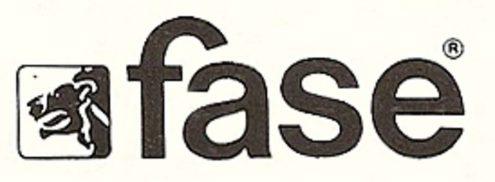 Fase Model 520-C Desk Lamp - Fase logo 70s