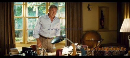Fase President Desk Lamp was used as a prop in the film Indiana Jones and the Kingdom of the Crystal Skull