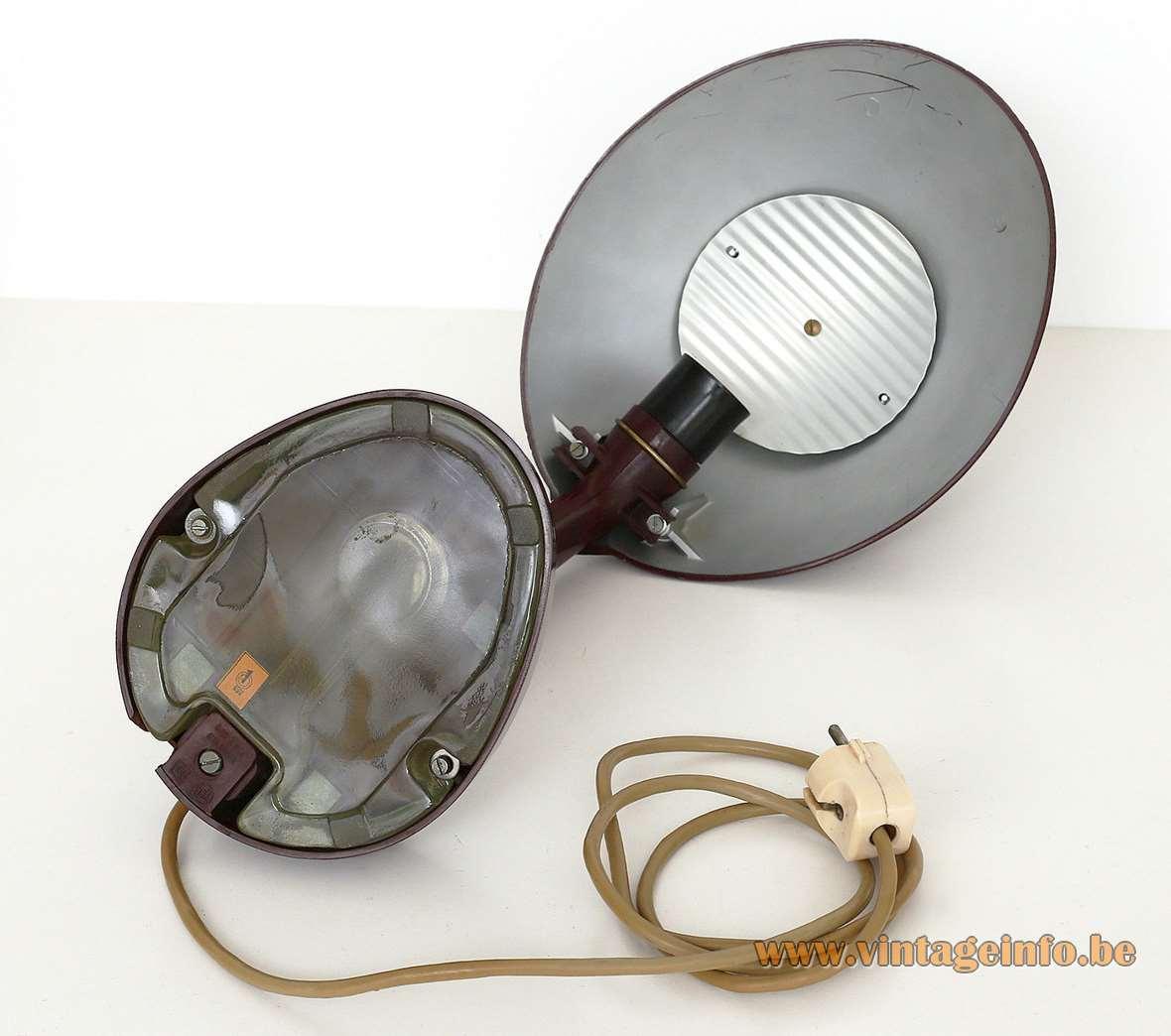 Kandem LBL Red Bakelite Desk Lamp