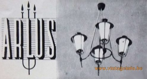 Maison Arlus Chandelier - Publicity from 1953