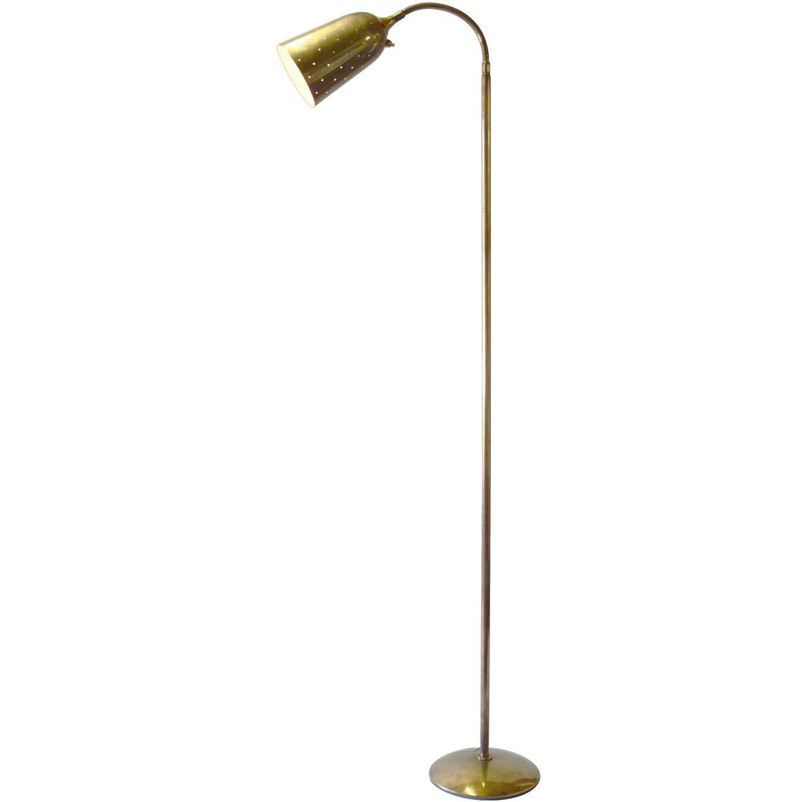 Paavo Tynell Brass Floor Lamp