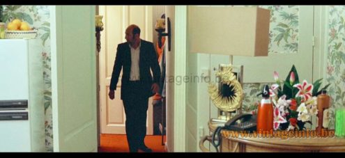 Philippe Cheverny Table Lamp used as a prop in the film Bienvenue Chez Les Ch'tis (2008) Lamps in the movies!