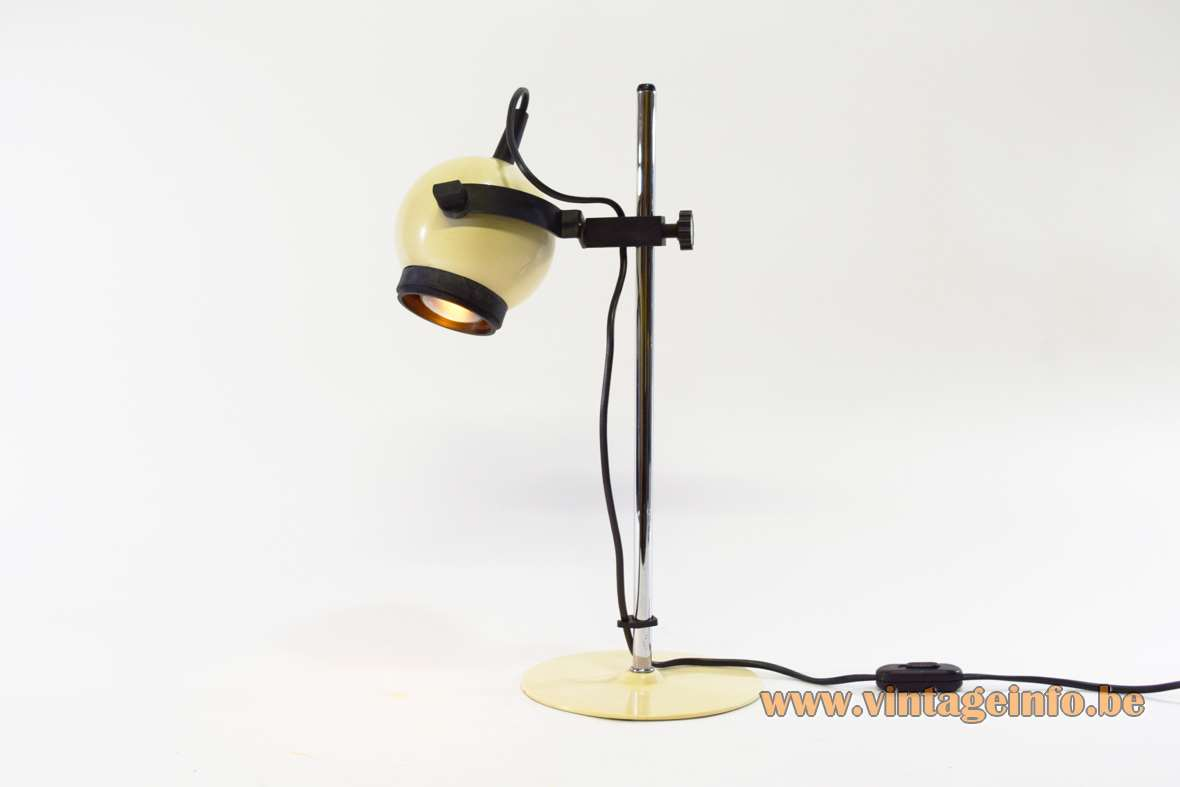 Vanilla Eyeball Desk Lamp