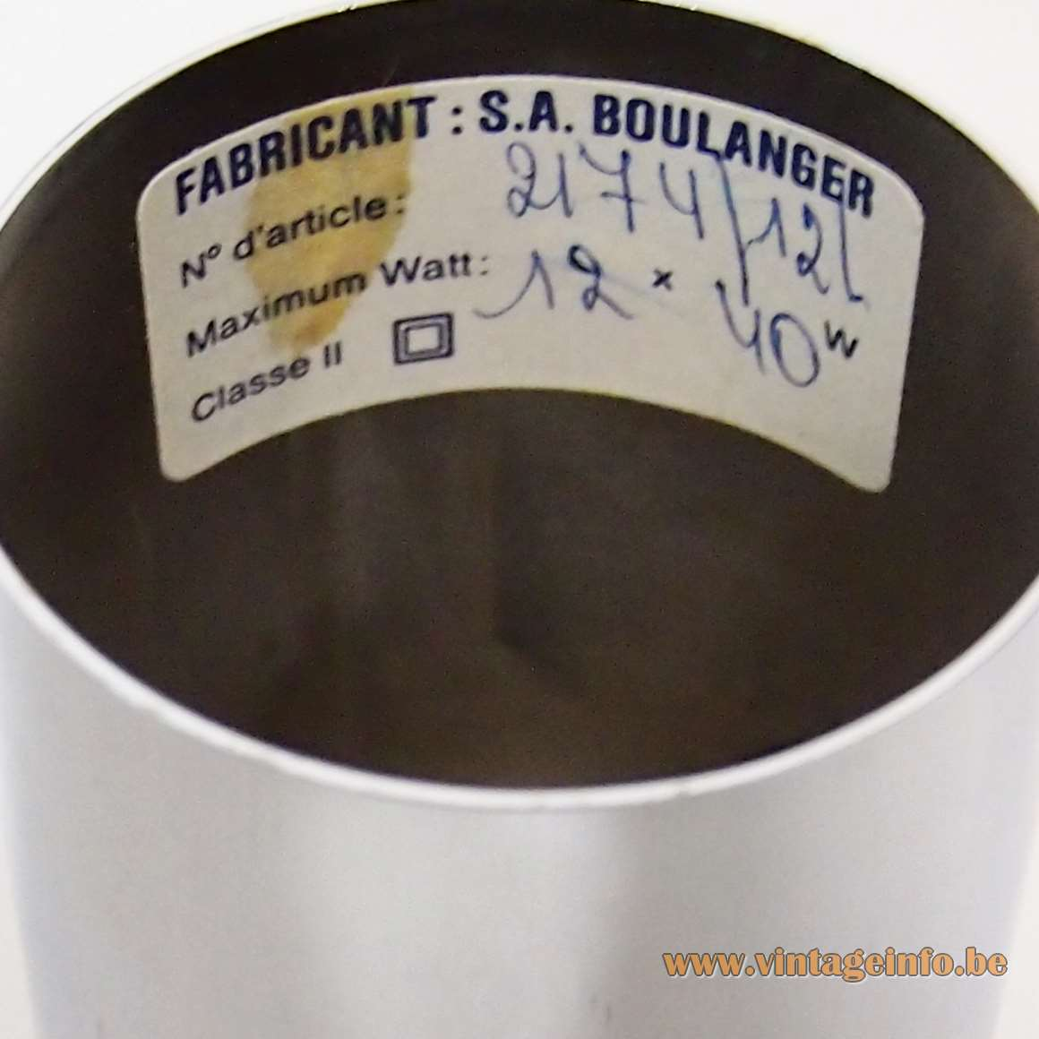 S.A. Boulanger Label