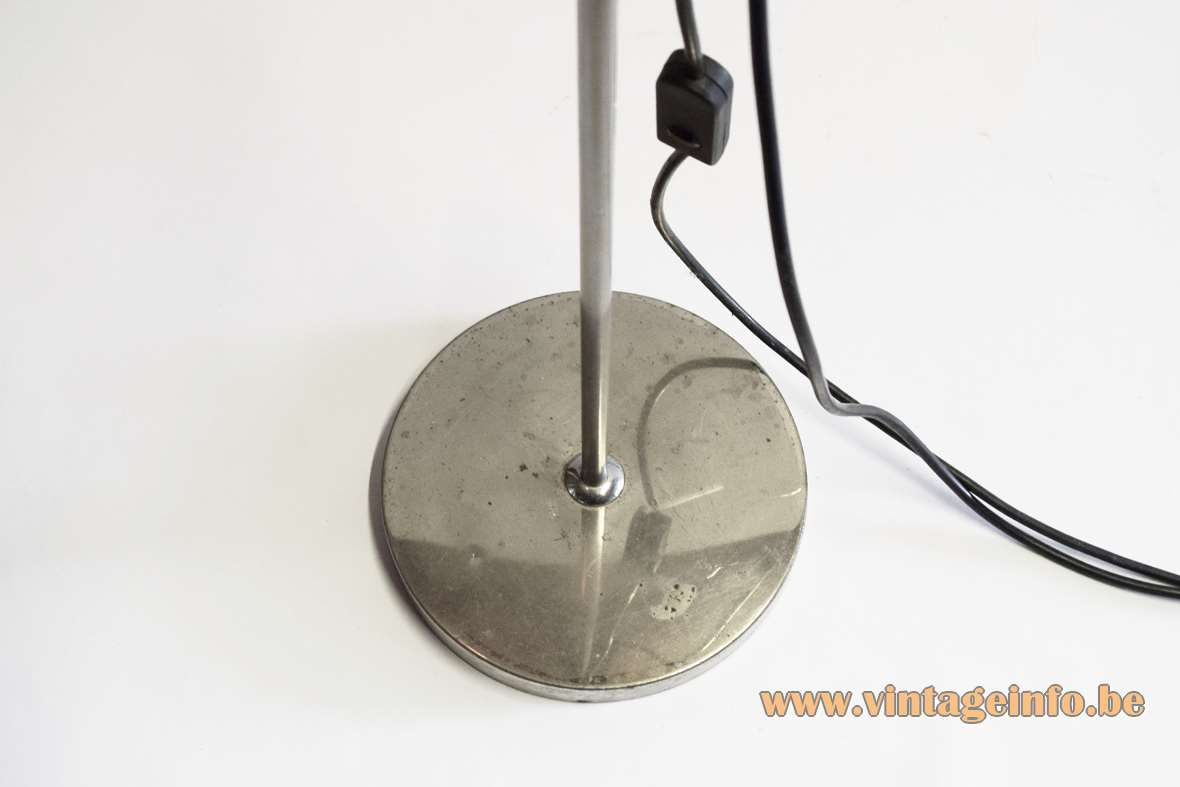 1960s Nickel-Plated Floor Lamp