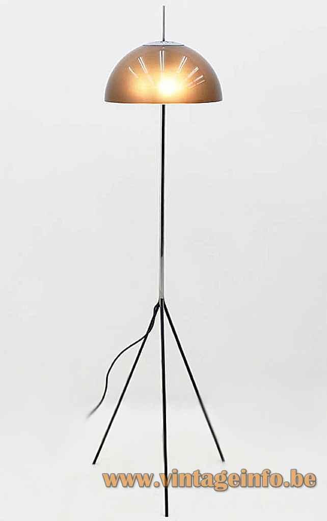 Arteluce Floor Lamp - Design: Gino Sarfatti, 1960s, Italy