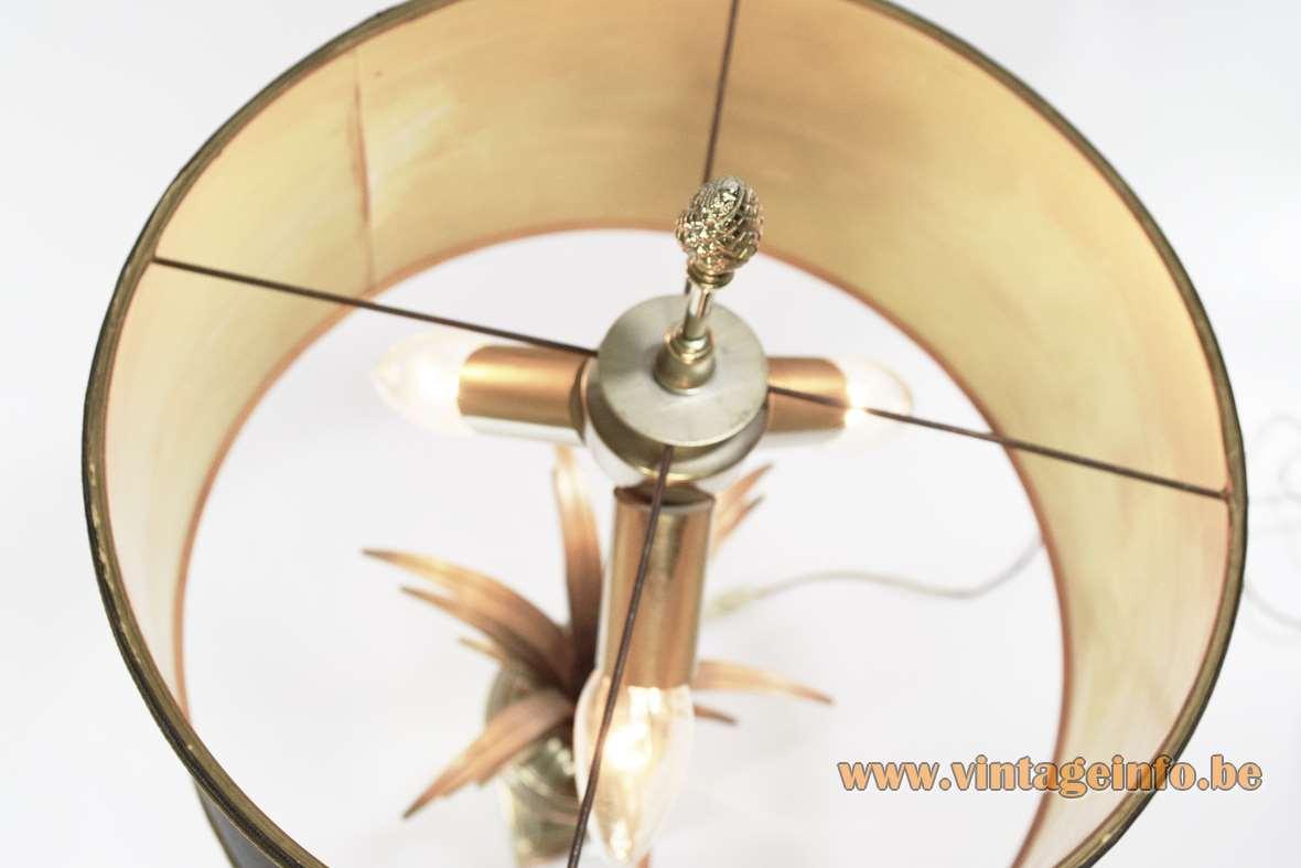 Boulanger Chrome Reed Table Lamp