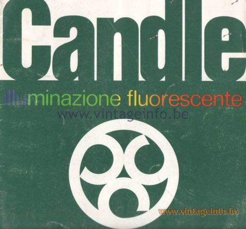 Candle 1970s Fluorescence Lighting Catalogue - cover
