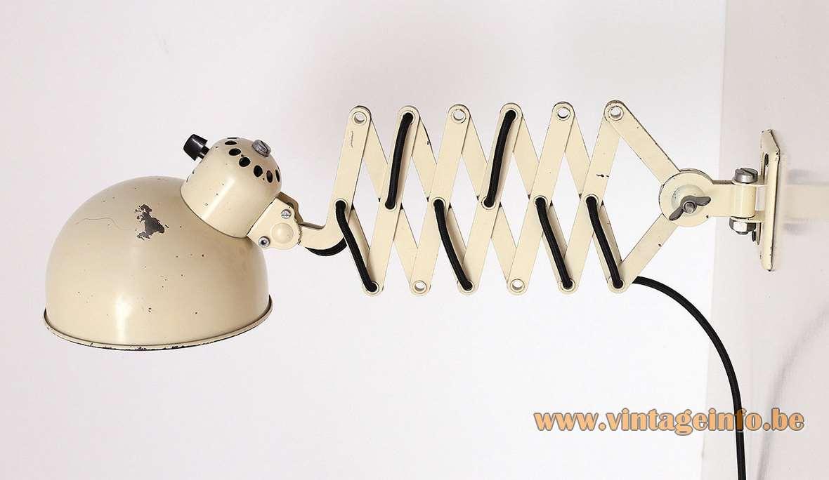 Christian Dell Koranda Scissor Lamp