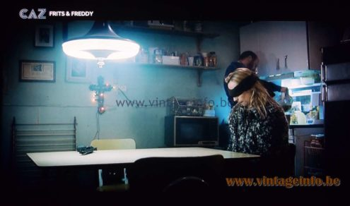 Circular Fluorescent Tube Pendant Lamp used as a prop in the film Frits & Freddy (2010) Lamps in the movies!