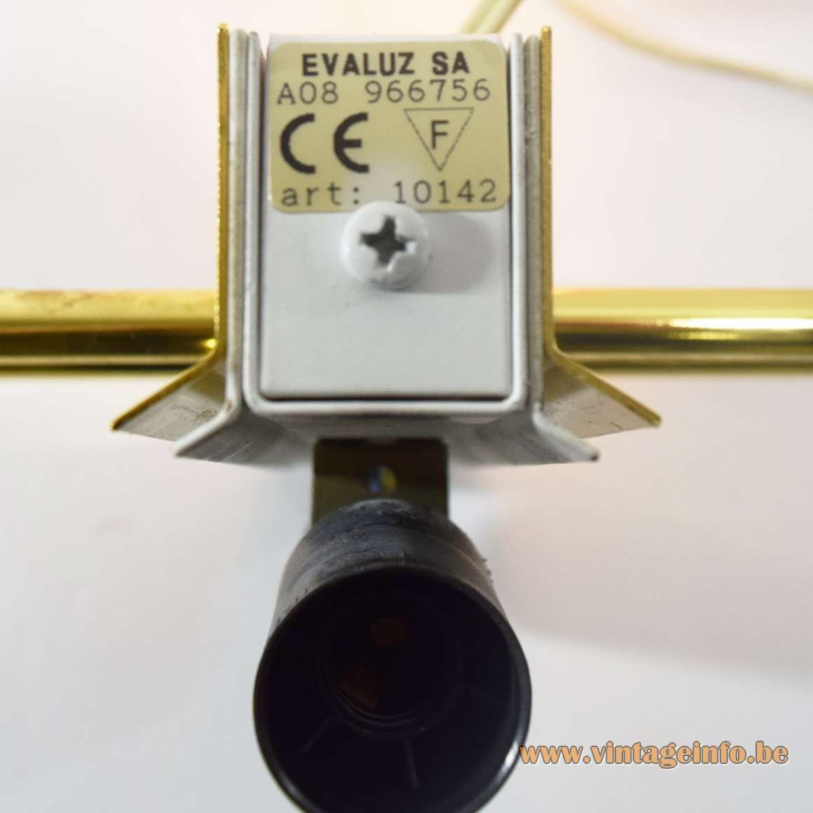 Evaluz Arriba Wall Lamps - Label