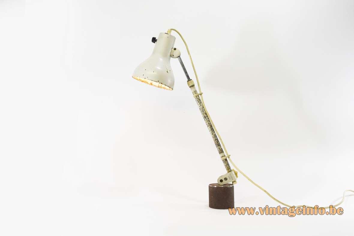 Kaiser Idell 1960s Work Lamp