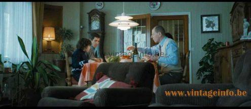 Poul Henningsen PH 5 Pendant Lamp used as a prop in the 2014 film La Prochaine Fois Je Viserai le Coeur