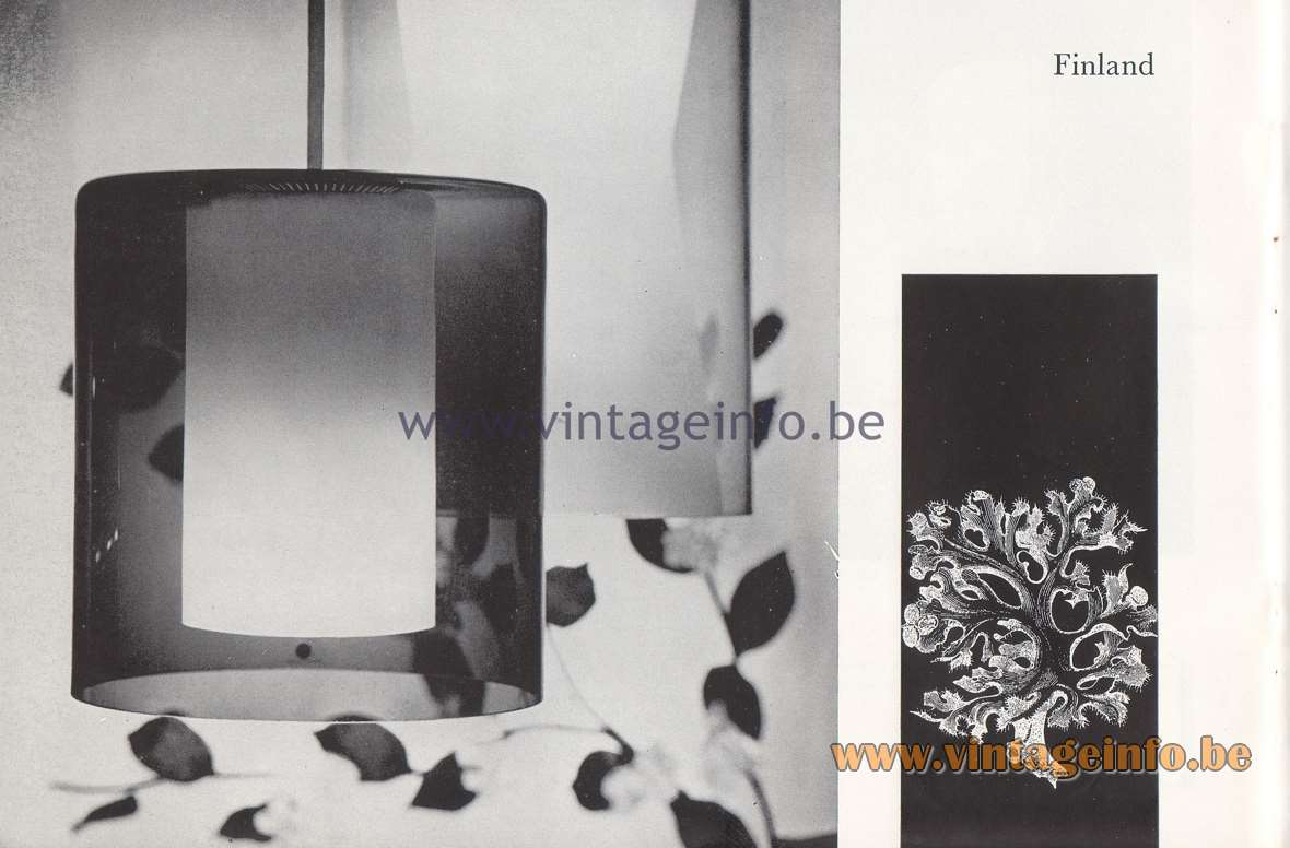 Raak Lichtarchitectuur - additional catalog nr 4 - Finland - Tapio Wirkkala lamps