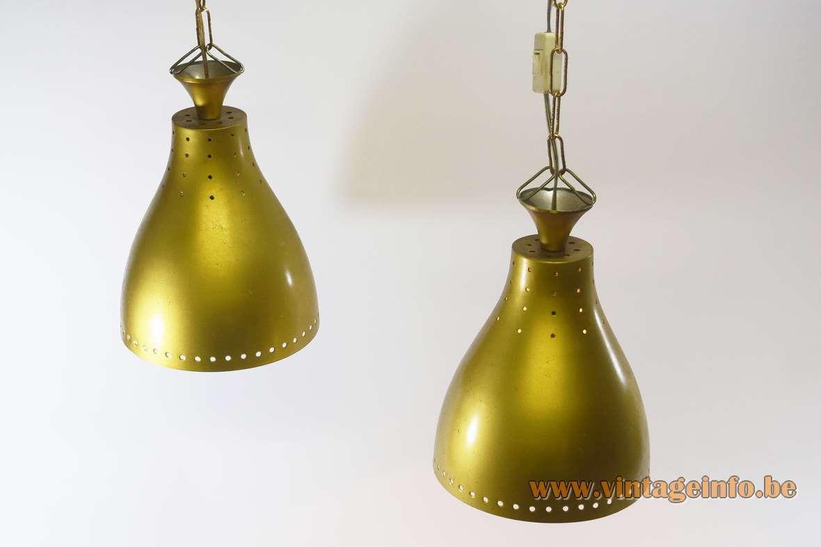 1950s Billiard Pendant Lamps