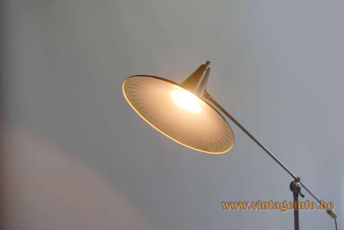 1950s Panama Style Floor Lamp