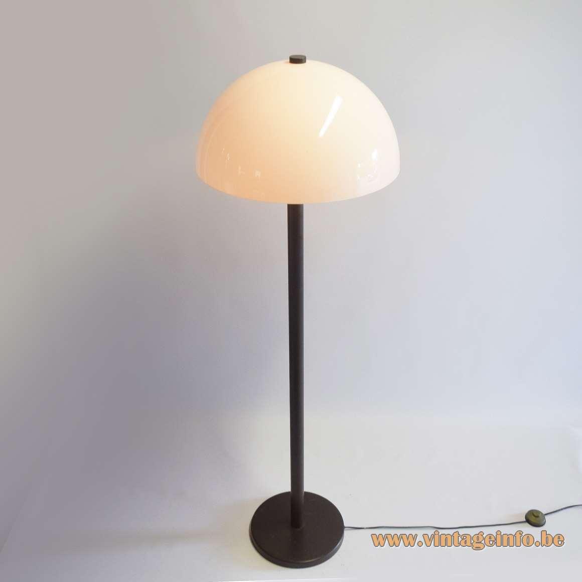 1970s Mushroom Floor Lamp