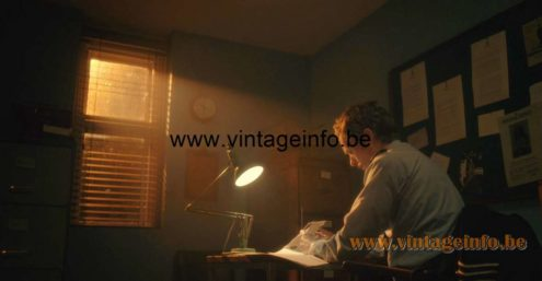 Anglepoise model 1227 Task Light used as a prop Endeavour TV Series 6 Lamps in the movies