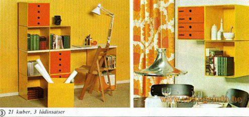 Chrome witch hat pendant lamp IKEA catalogue iron Mid-Century Modern 1960s 1970s MCM