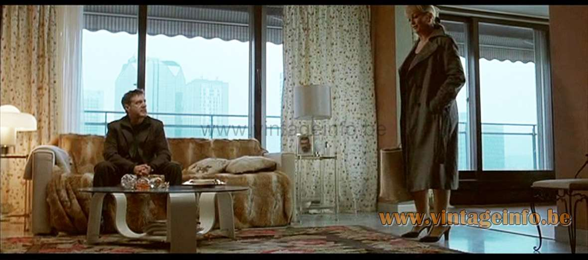 Harvey Guzzini Brumbry Table Lamp was used as a prop in the film 36 Quai des Orfèvres (2004) lamps in the movies!