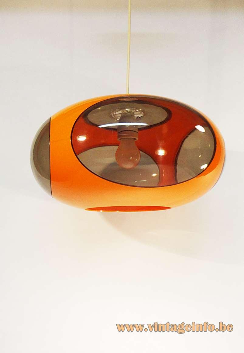 Luigi Colani UFO Pendant Lamp