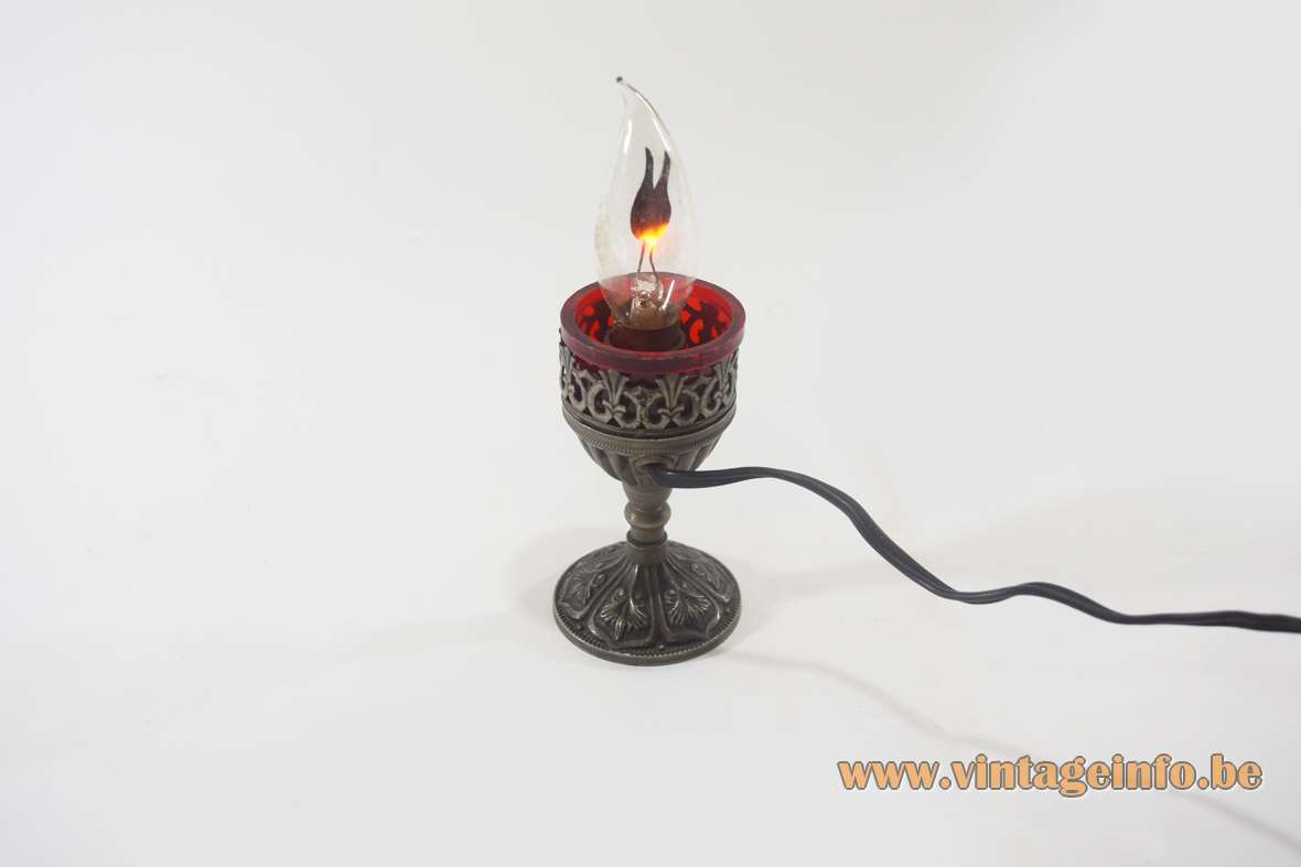Remembrance Flame Table Lamp