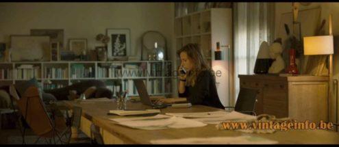 Fog & Morup Studio floor lamp used as a prop in the 2020 film Ofrenda A La Tormenta