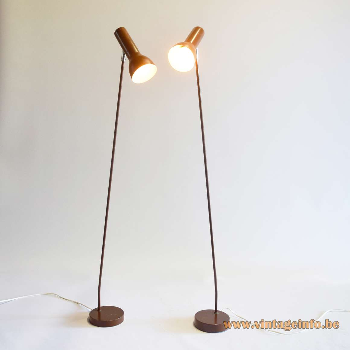 OMI 1970s Reading Floor Lamps
