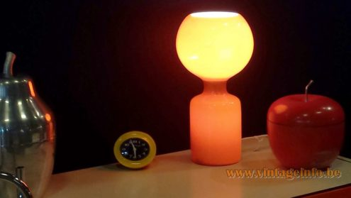 Philips Tobrouk Table Lamp Puces du Design Paris designer: Jean-Paul Emonds-Alt