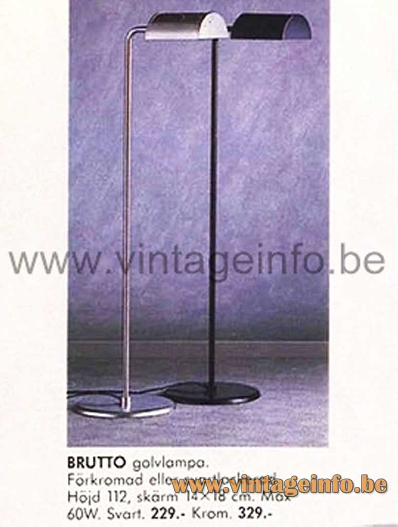 Abo Randers Metal Floor Lamp - IKEA Brutto Floor Lamp - Catalogue Picture