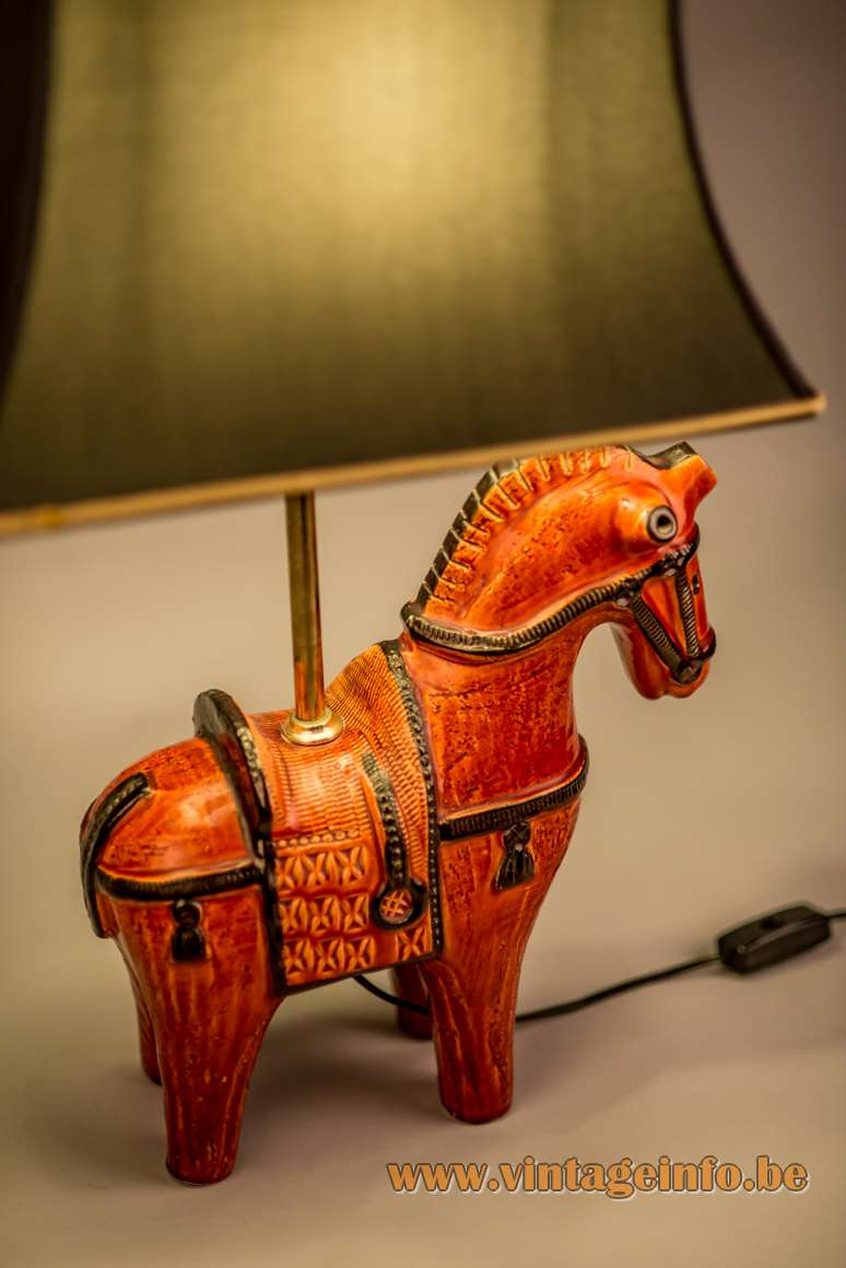 Bitossi Horse Table Lamp