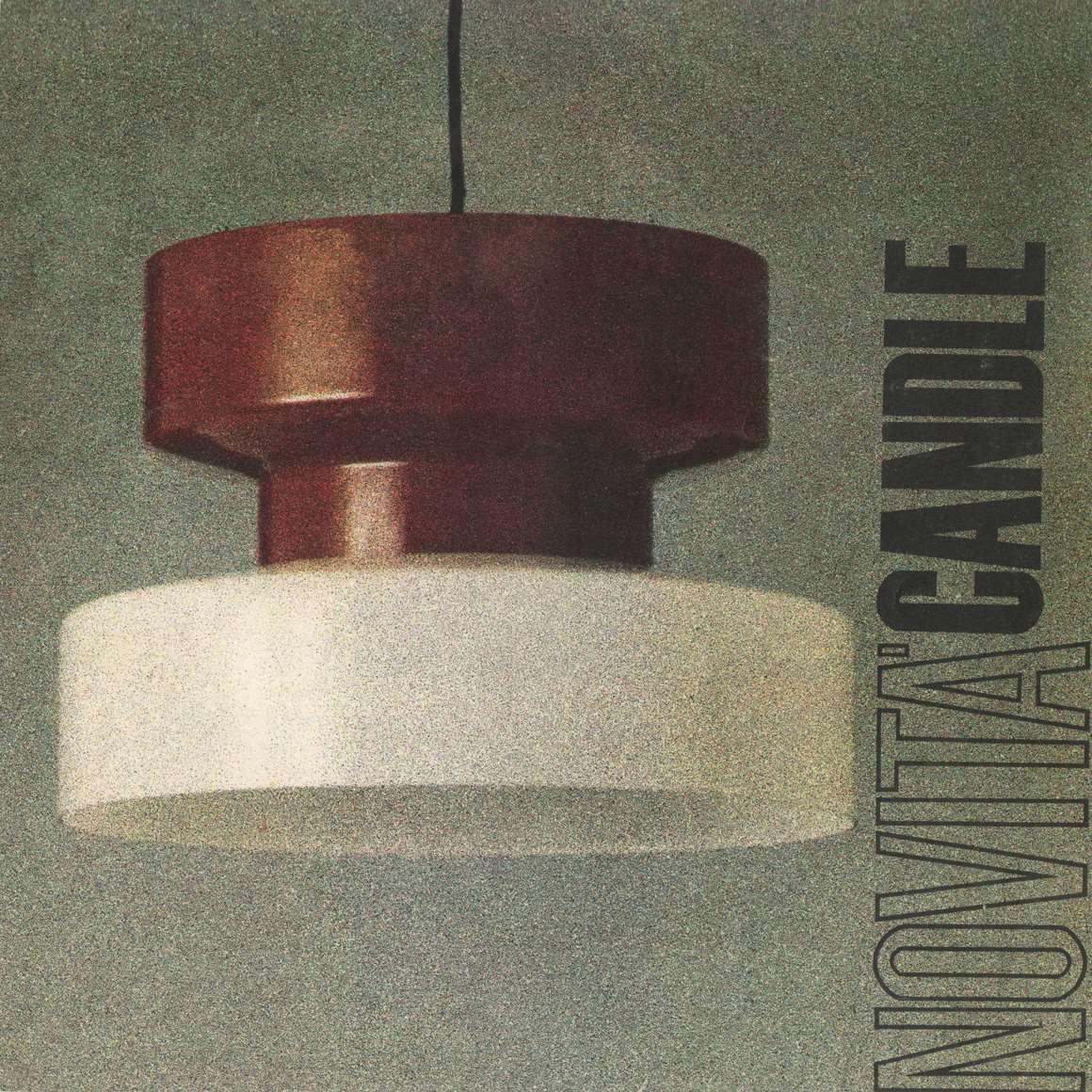 Candle 1960s Lighting Catalogue – Vintage Pendant Lamps, Floor Lamps, Table Lamps, Desk Lamps Chandeliers, Wall Lamps