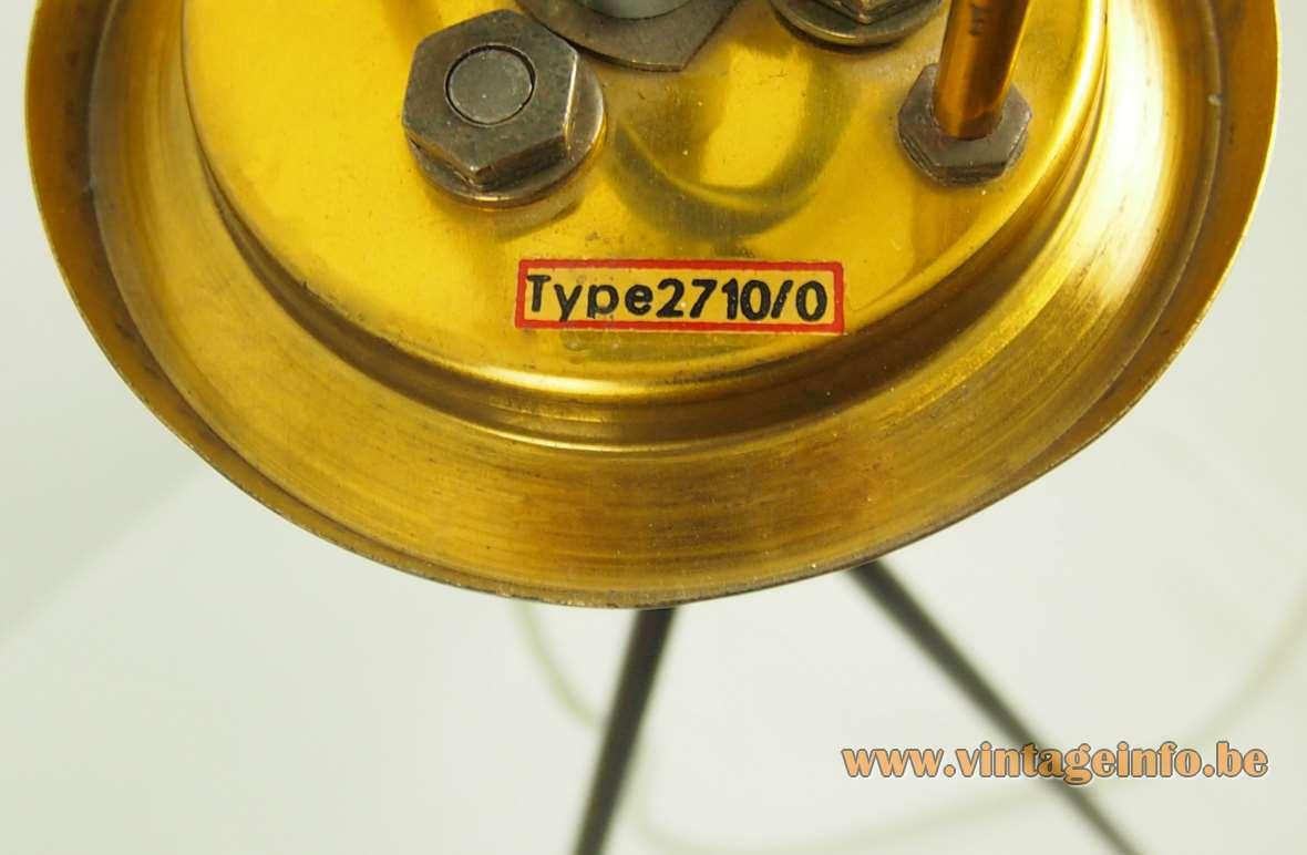Celluloid Tripod Floor Lamp