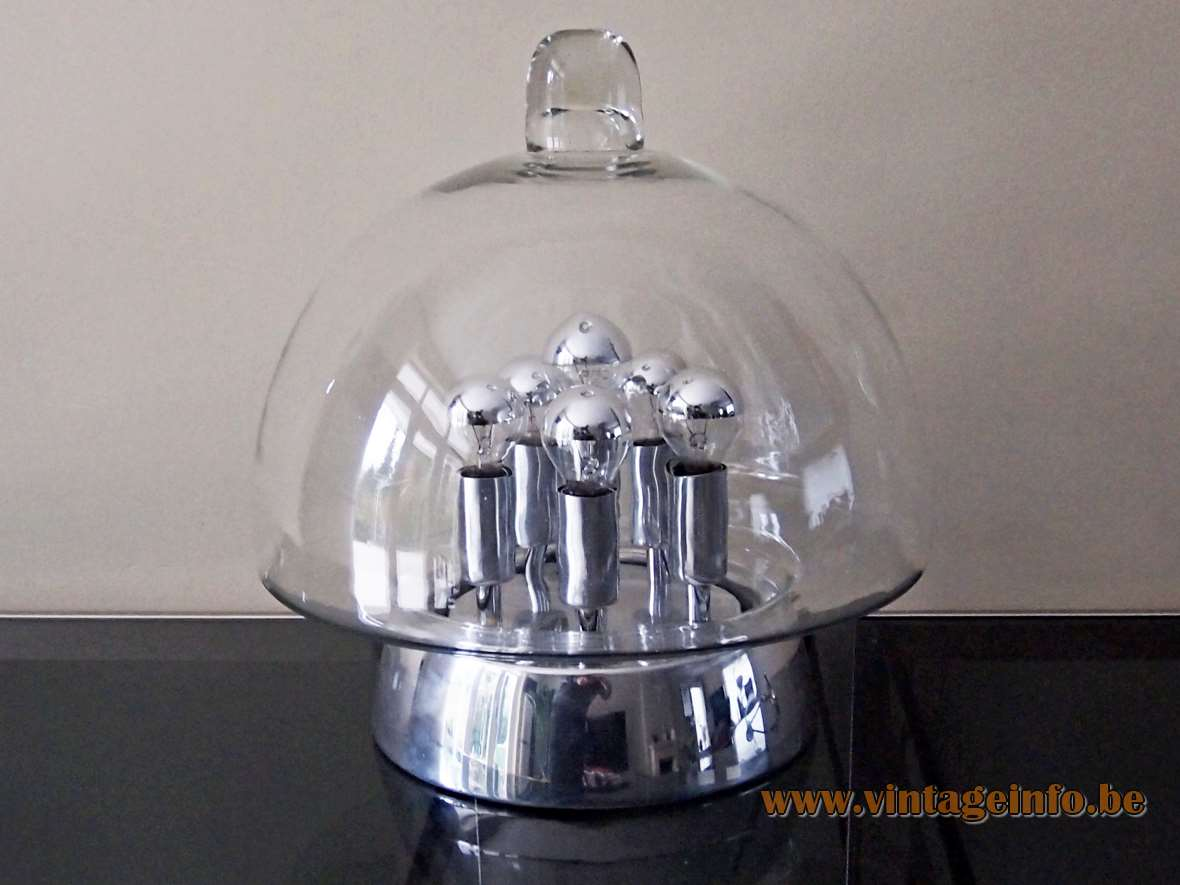 Doria Sputnik Table Lamp Vintage Info All About Vintage