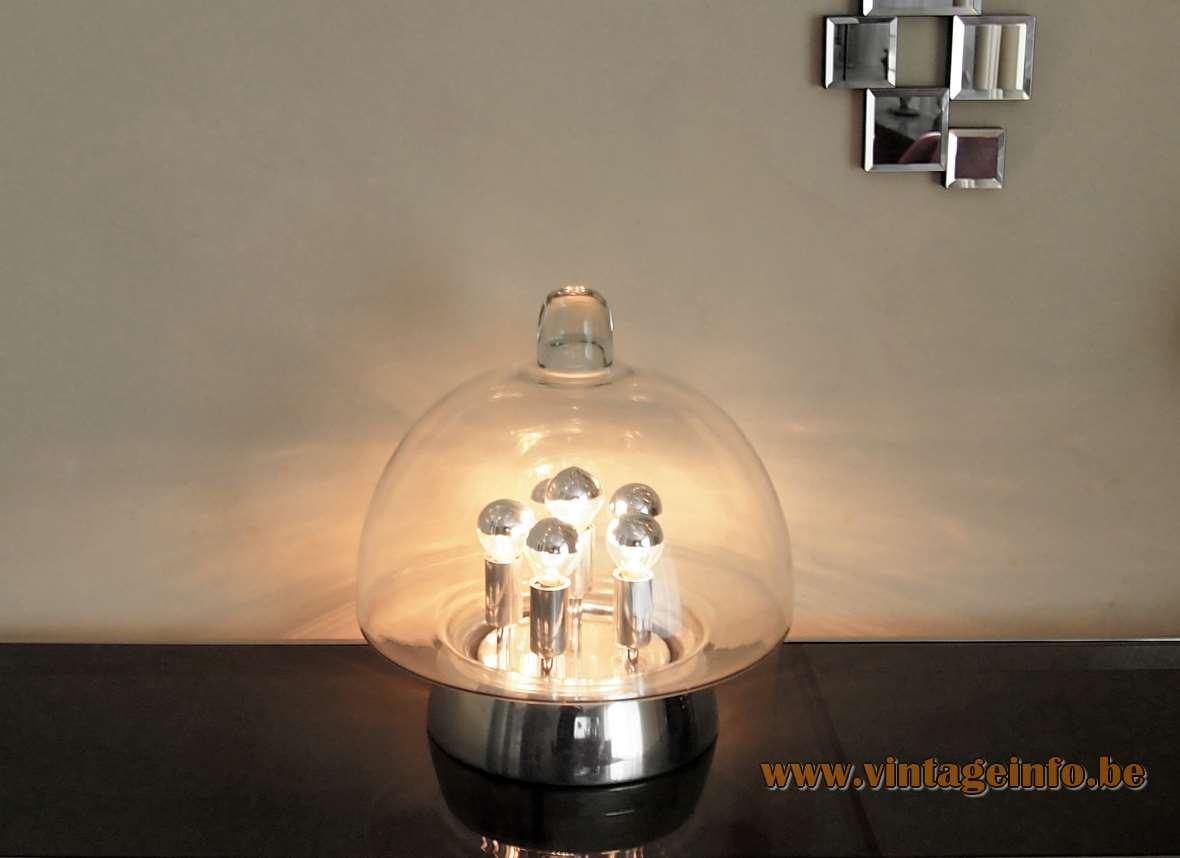 save off b79df a3b18 DORIA Sputnik Table Lamp –Vintage Info – All About Vintage ...