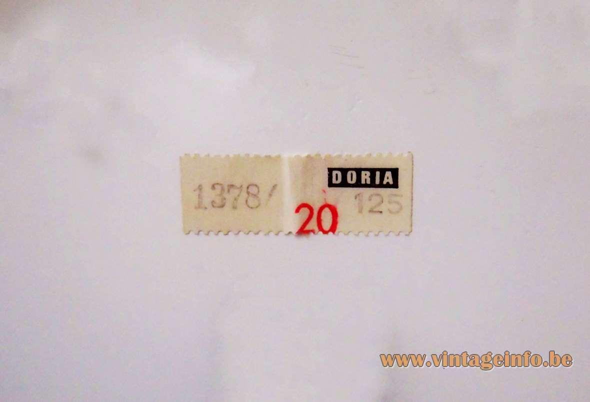 Doria Sputnik Table Lamp - label 1378