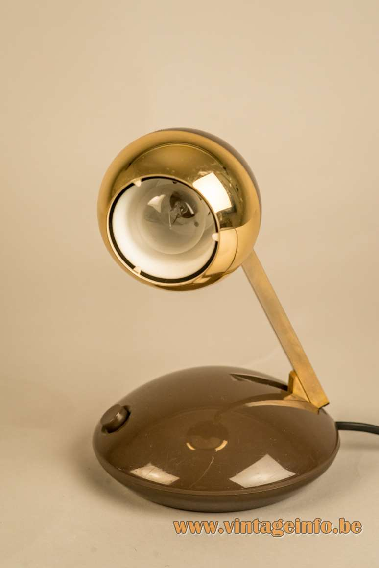 Eichhoff Werke Lampina telescopic desk lamp extendable square rod design: Koch Creations Hala 1960s 1970s 1980s