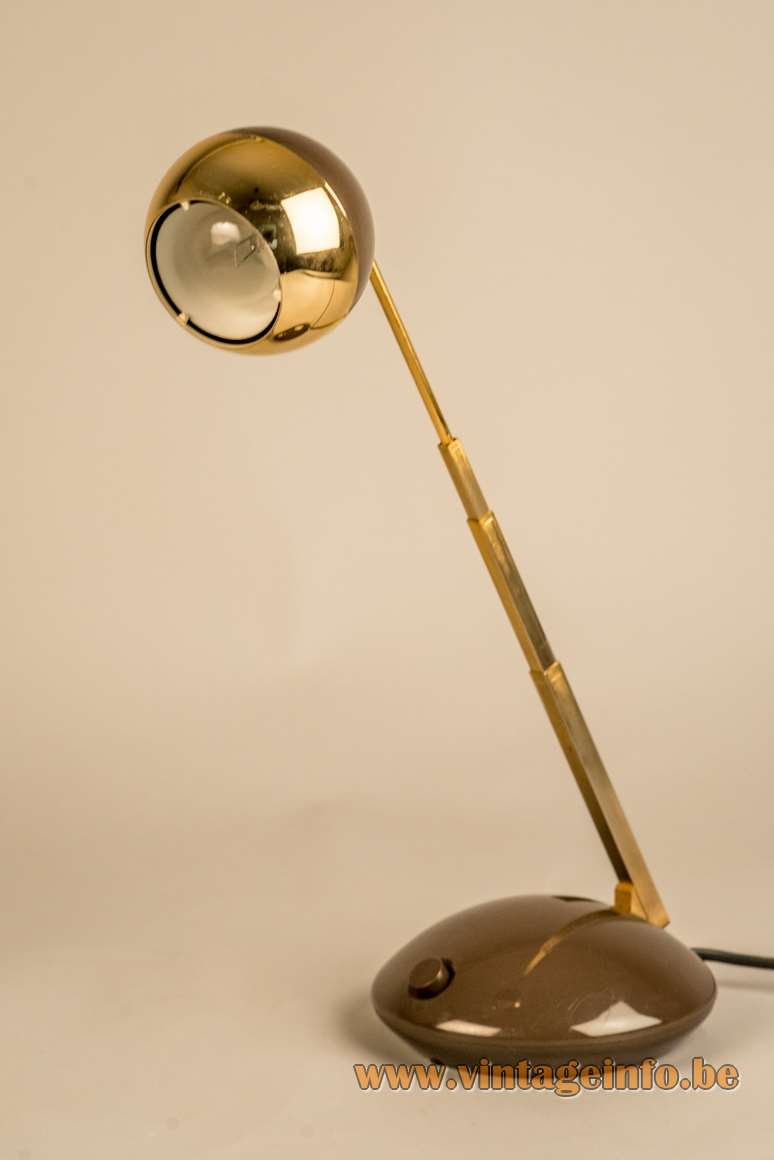 Eichhoff Werke Lampina telescopic desk reading table lamp extendable design: Koch Creations MoMA Hala MCM catalogue