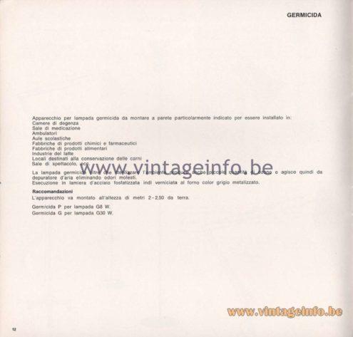 Greco Illuminazione 1965 Catalogue - page 14